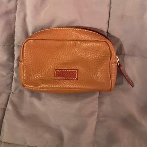 Dooney and Bourke Cosmetic Bag - Camel